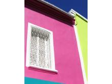 Facade haute en couleur