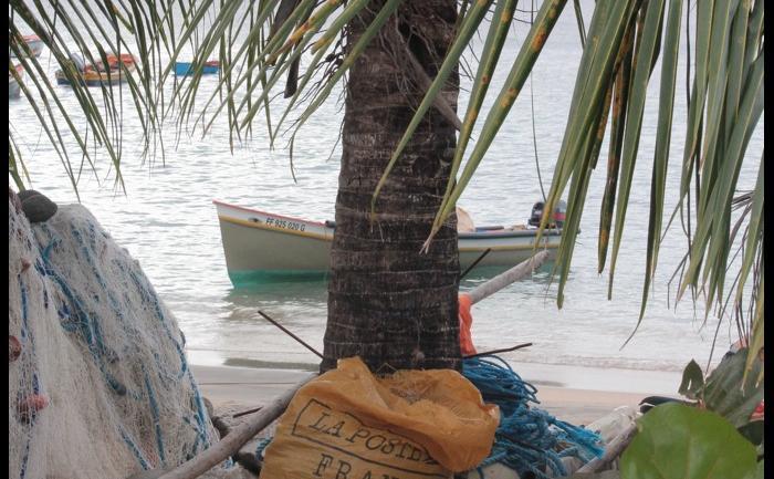 La poste à la plage...