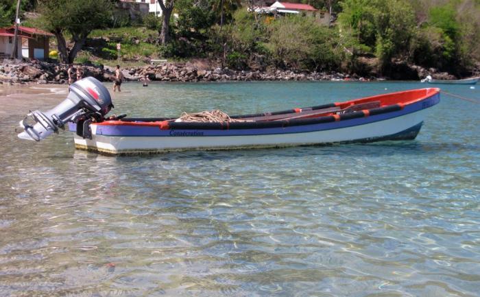 Yole de pêche Anse Dufour